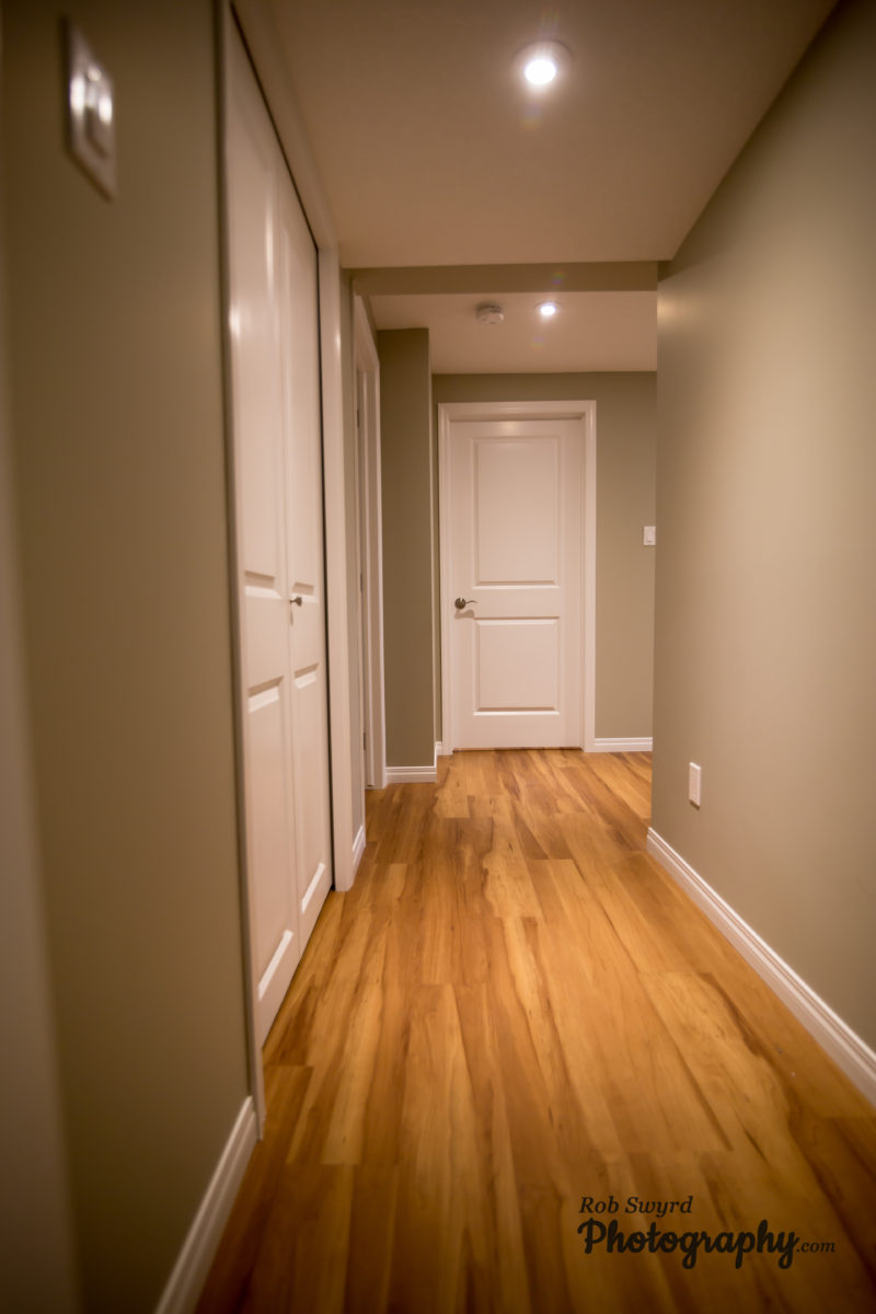 Edmonton Basement Renovations - Hallway