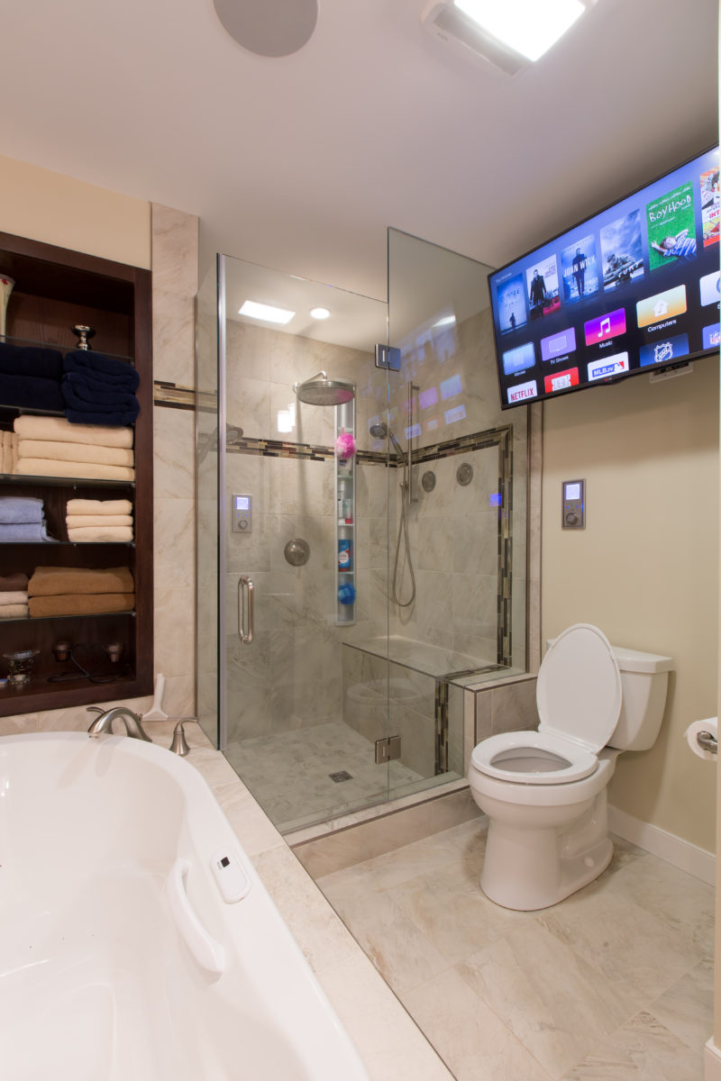 Edmonton Bathroom Renovations - TV